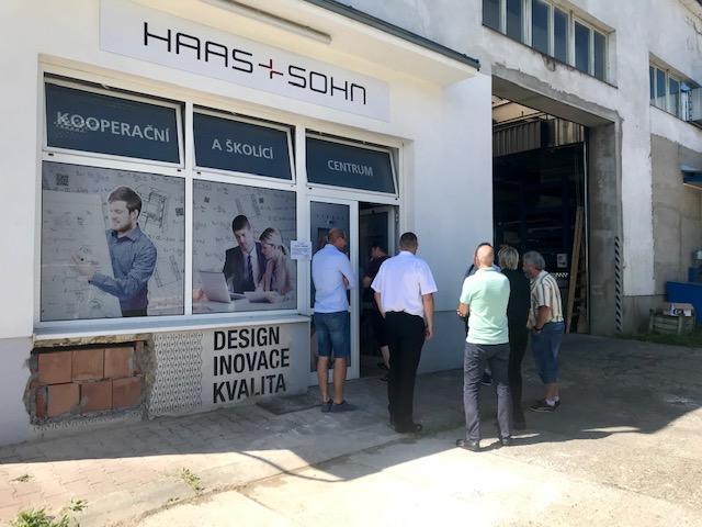 školení prodejců HAAS+SOHN_zkušebna
