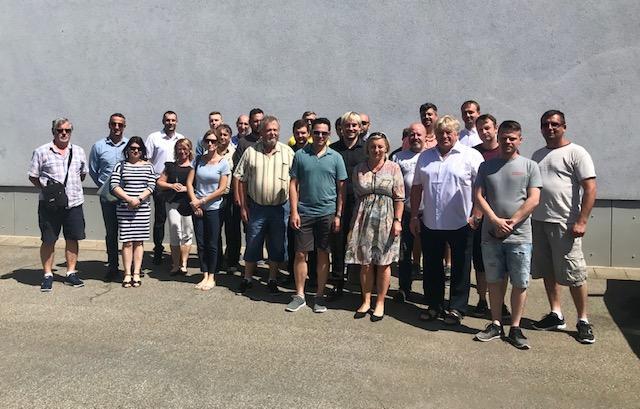 školení prodejců HAAS+SOHN_společné foto